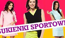 Sukienki sportowe, dresowe… wygodne i stylowe :)