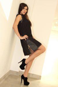 czarna sukienka roxan