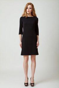 melissa czarna sukienka