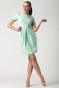 sukienka claire miętowa