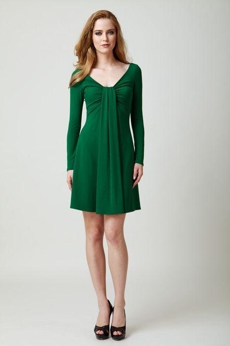 sukienka ines zielona