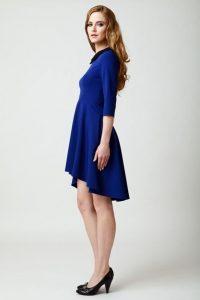 sukienka valerie niebieska