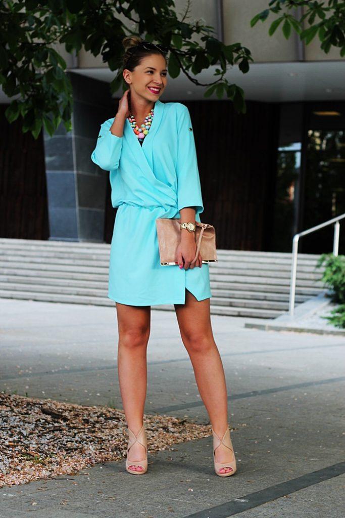 sukienka kopertowa 2