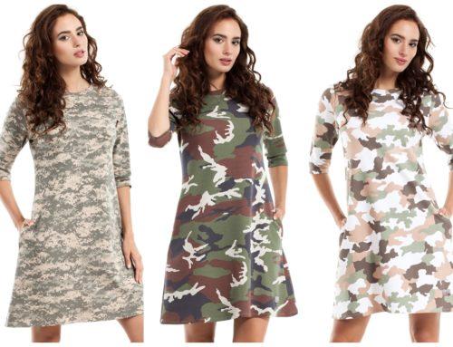 Na Dzień Kobiet modne sukienki z wzorami