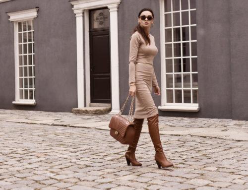 Eleganckie i modne sukienki na jesień i zimę